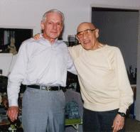 Composers Irving Gertz and Herman Stein, reunited after 35 years