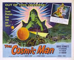 Cosmic Man lobby card